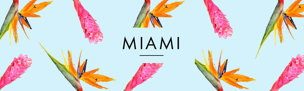 Miami Floral Collage